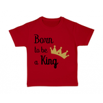 tshirt-enfant-rouge-born-to-be-a-king