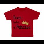 tshirt-enfant-rouge-born-to-be-a-princess