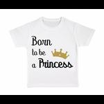 tshirt-enfant-blanc-born-to-be-a-princess