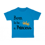 tshirt-enfant-bleu-born-to-be-a-princess
