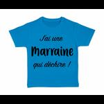 tshirt-enfant-bleu-jai-une-marraine-qui-déchire