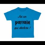 tshirt-enfant-bleu-jai-un-parrain-qui-dechire