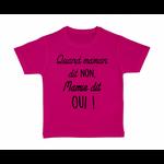 tshirt-enfant-rose-quand-maman-dit-non-mamie-dit-oui