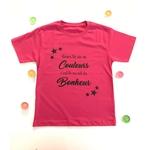 T-shirt-reve-ta-vie-en-couleurs-rose