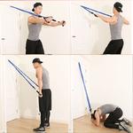 Nouveau-11-pi-ces-bandes-de-r-sistance-ensemble-Yoga-exercice-Fitness-bande-en-caoutchouc-boucle