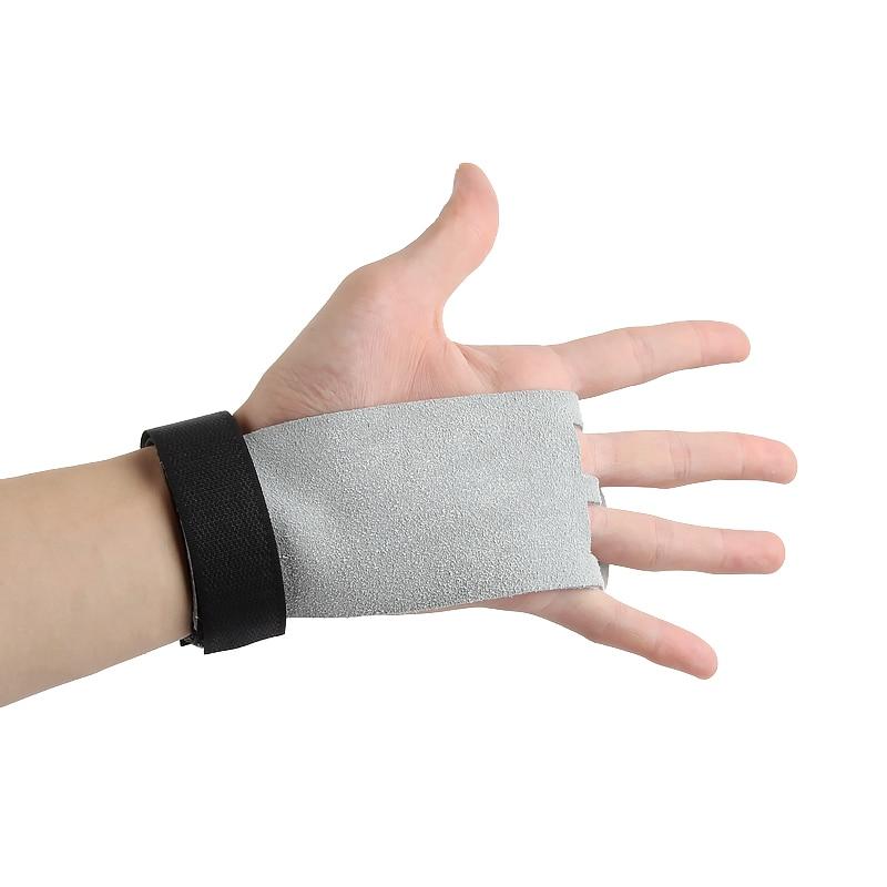 Protection mains en cuir