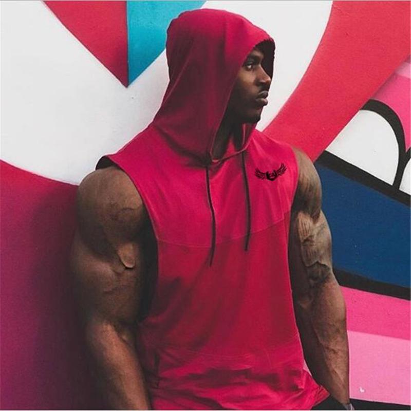 Nouveau-style-D-t-Mens-Fitness-Bodybuilding-Capuche-D-bardeurs-Gilet-v-tements-sans-manches-Sweat