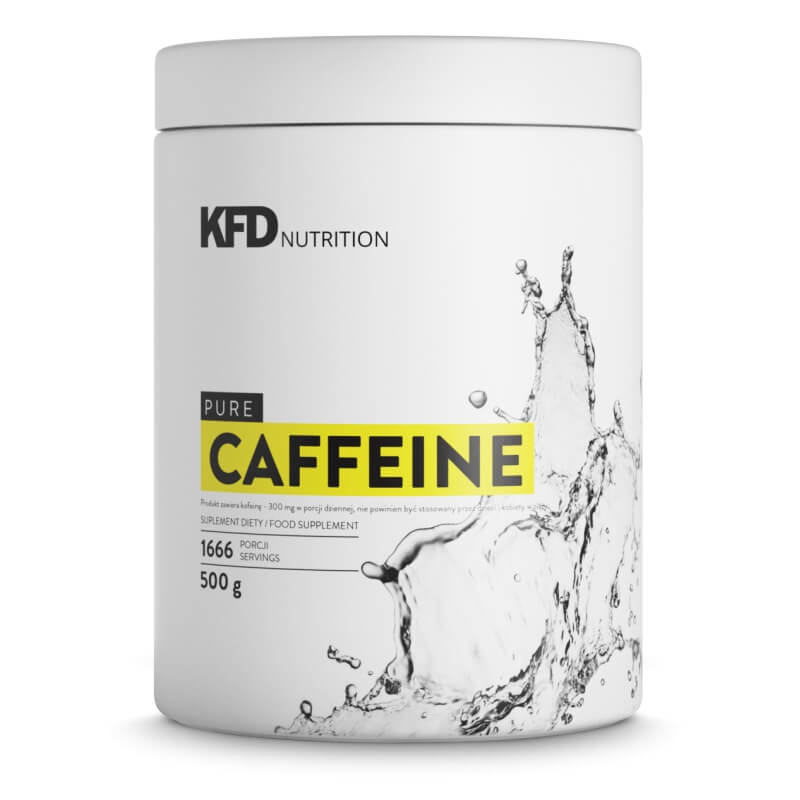 KFD PURE CAFÉINE - 500 G (CAFÉINE)