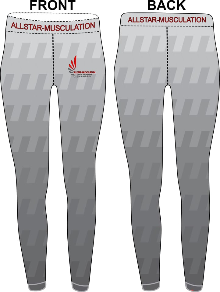 Leggings ALLSTAR CARREAUX GRIS
