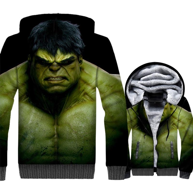 Sweat capuche Hulk
