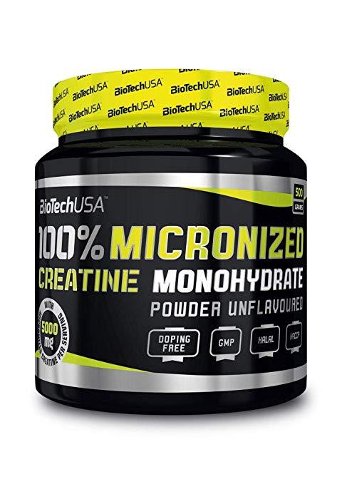 100% de monohydrate de créatine