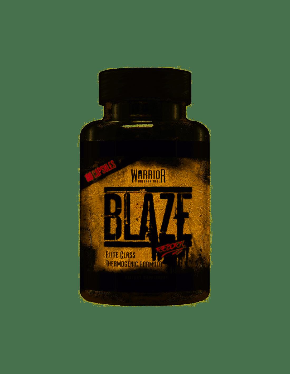 Blaze 90 Capsules Warrior
