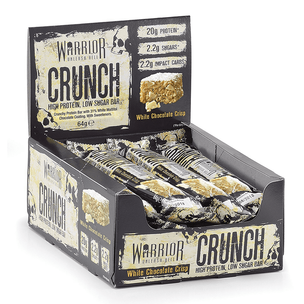 Crunch 12 barres de 64 G Warrior
