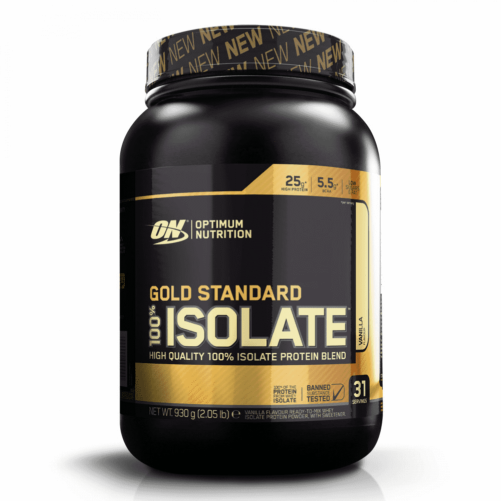 Nutrition optimale  Gold Standard 100% Isolat