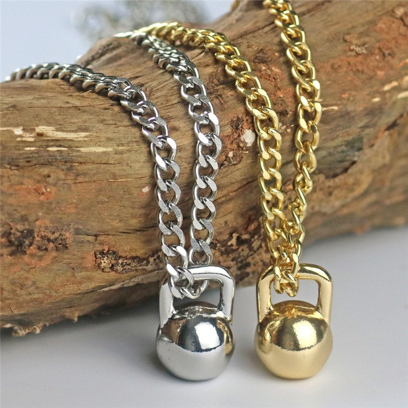 Collier poids rond