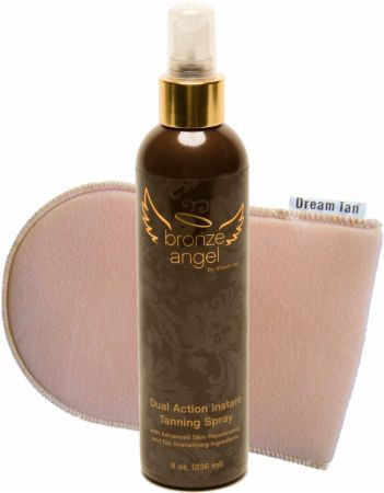 Dream Tan Spray bronzant Angel Angel avec mitaine 230 ml