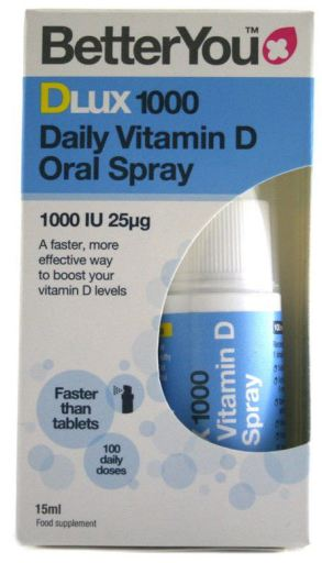 DLux 1000 Spray oral quotidien à la vitamine D