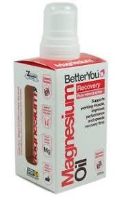 Spray de récupération d\'huile de magnésium - 100 ml.