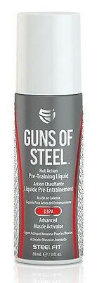 Pro Tan Guns of Steel, Hot Action Pre-Training Liquid - 89 ml