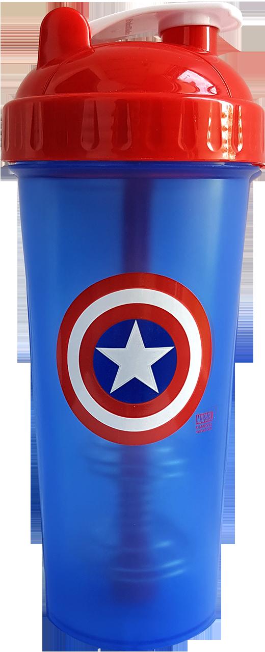 Perfect Shaker héro Captain America 800 ml