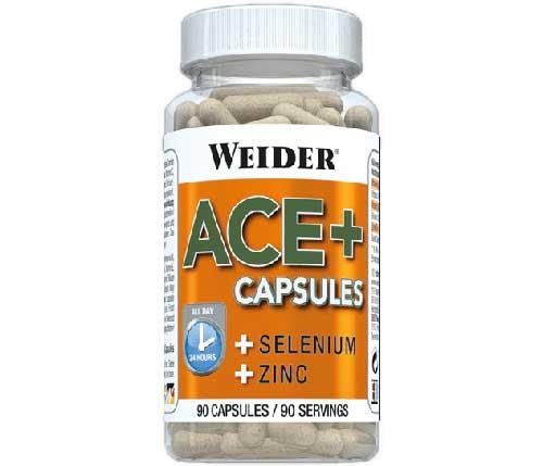 ACE + avec sélénium et zinc 90 capsules