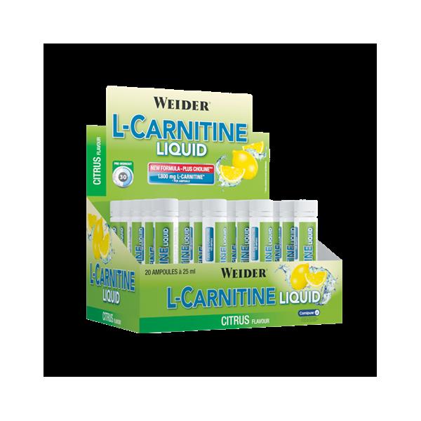 L-Carnitine liquide 20*25 ml
