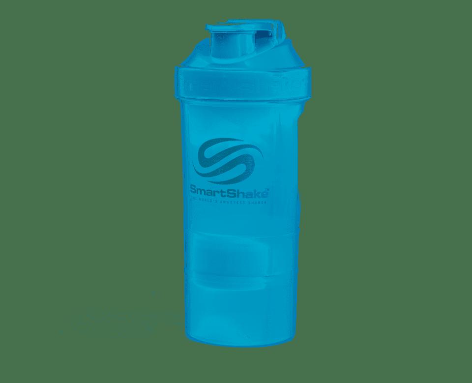 Shaker Original2Go SmartShake Bleu Néon