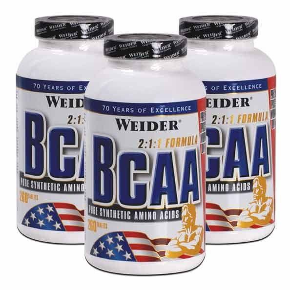 BCAA 2: 1: 1 Formule 130 et 260 capsules