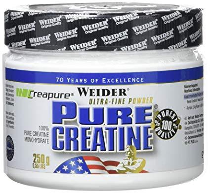 Pure Creatine 250 et 600 grammes