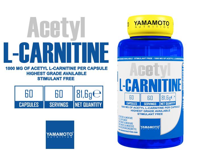 YAMAMOTO NUTRITION ACETYL L-CARNITINE 1000MG
