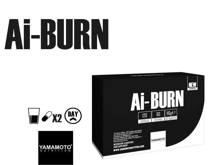 YAMAMOTO NUTRITION AI-BURN® 120 capsules
