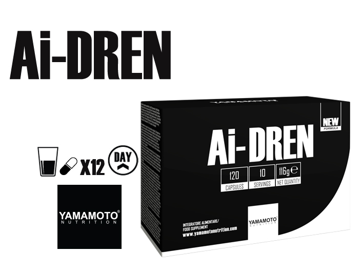 YAMAMOTO NUTRITION  AI-DREN® 120 Capsules