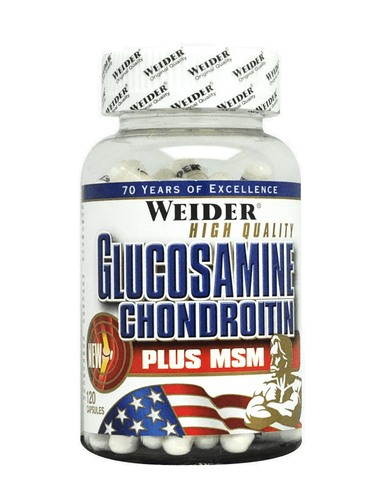 Glucosamine Chondrotin Plus MSM 120 capsules