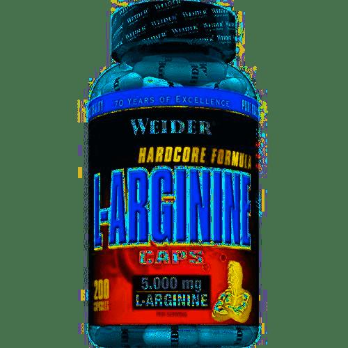 L-arginine 100 et 200 capsules