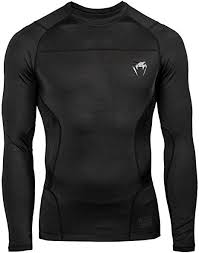 G-Fit Long Sleeved Rash Guard Noir
