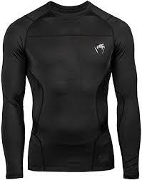 Venum G-Fit Long Sleeved Rash Guard Noir