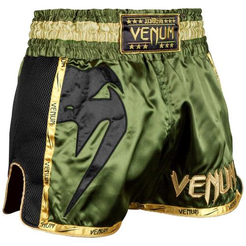 Short Venum Giant Muay Thai Kaki / Noir