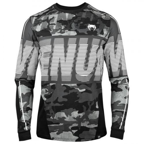 T-Shirt Venum Tactical à Manches Longues Noir / Blanc