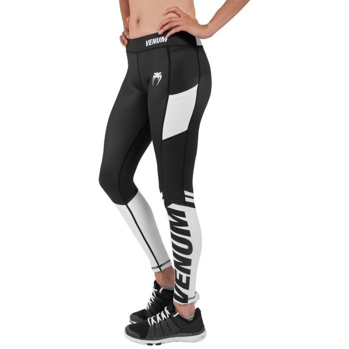 Leggings Femme Venum Power Noir Blanc