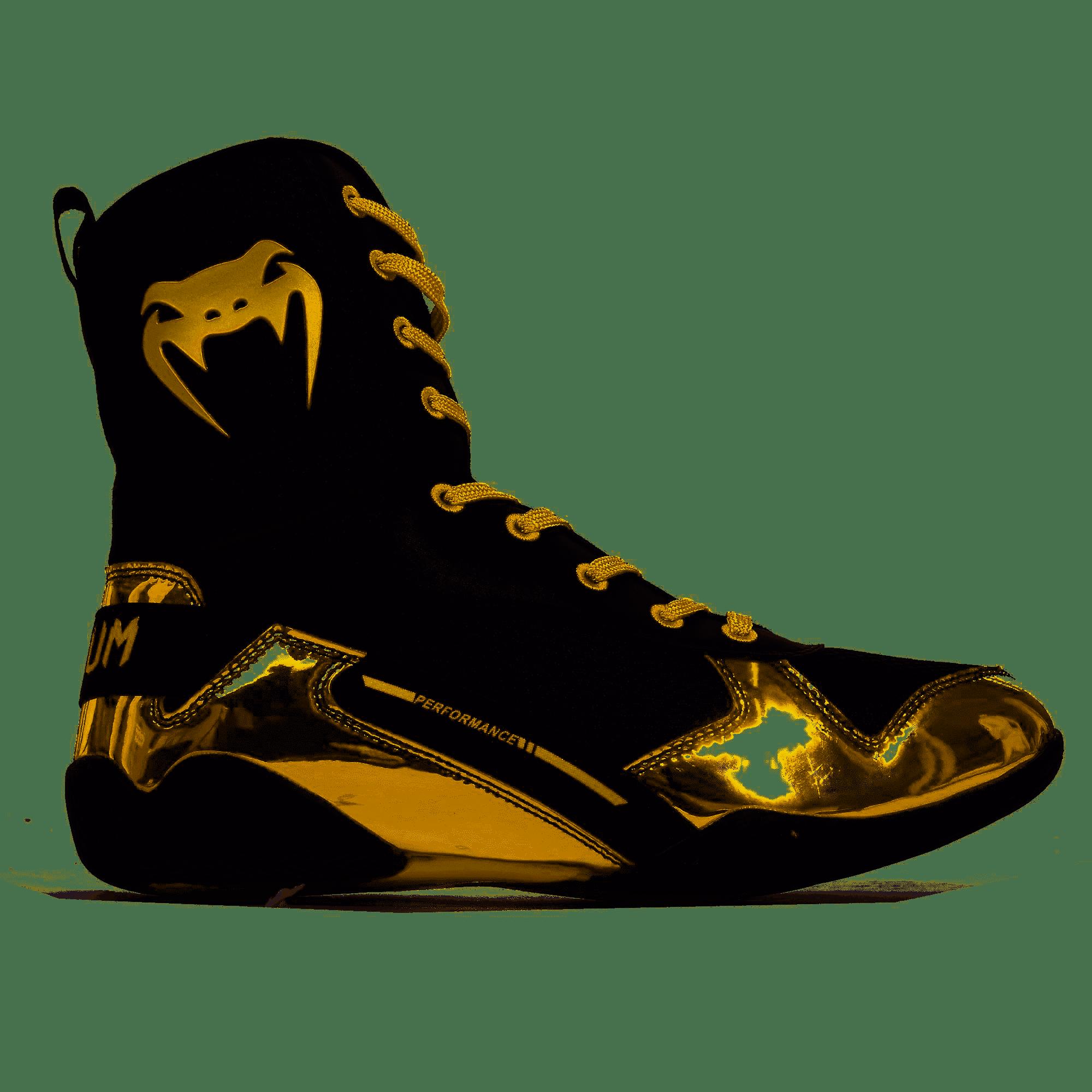 Chaussures de boxe Venum Elite Noir Or