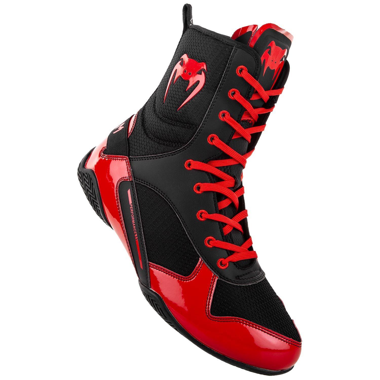 Chaussures de boxe Venum Elite Noir Rouge