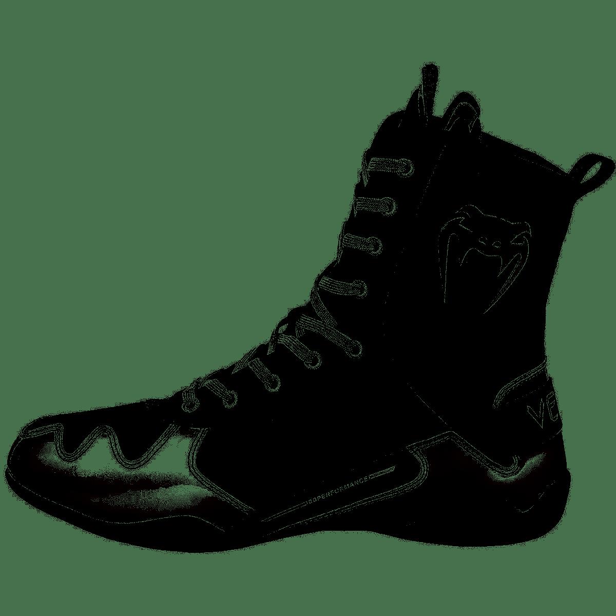 Chaussures de boxe Venum Elite Noir Blanc