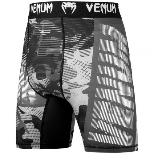 Short de compression Venum Tactical Blanc sur Noir