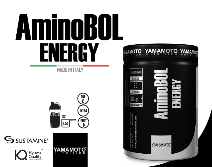YAMAMOTO NUTRITION AMINOBOL® ENERGY