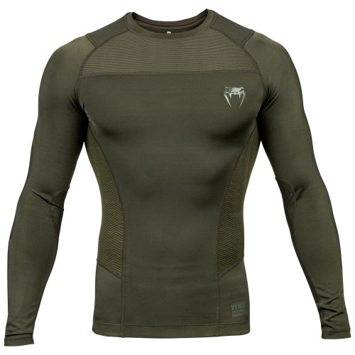 Rash Guard Venum G-Fit manches longues Kaki