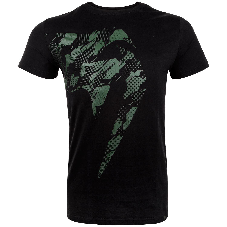 T-shirt Venum Tecmo Giant Kaki sur Noir