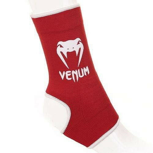 Support de cheville Venum Muay Thai Rouge