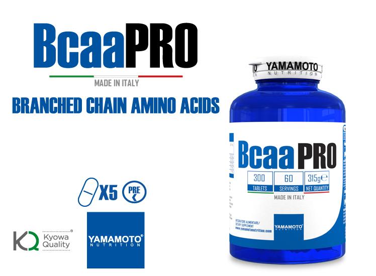 Yamamoto Nutrition  BCAA PRO Kyowa Quality  300 comprimés