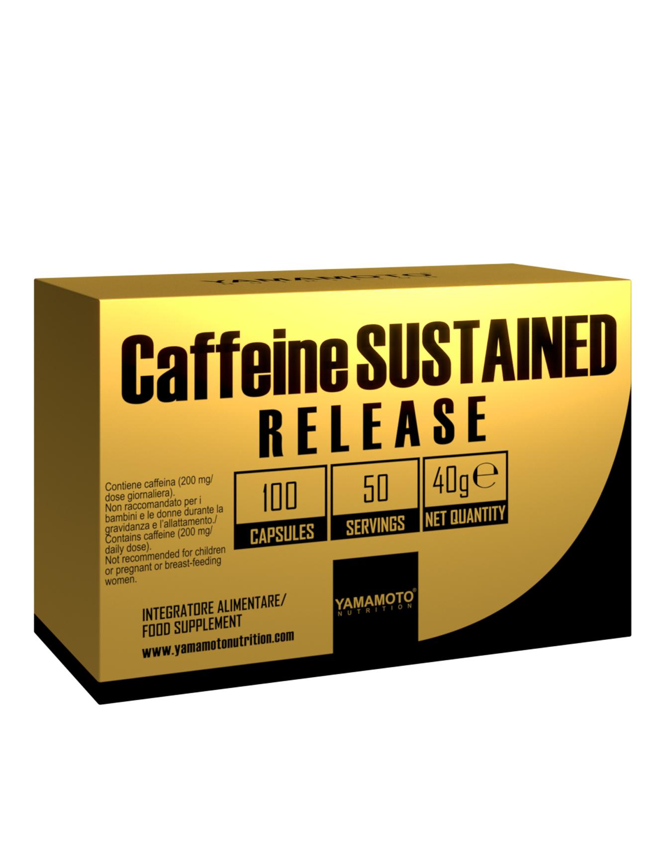 YAMAMOTO NUTRITION Caffeine SUSTAINED RELEASE