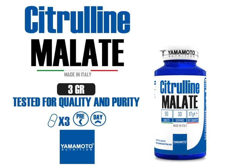 YAMAMOTO NUTRITION CITRULLINE MALATE